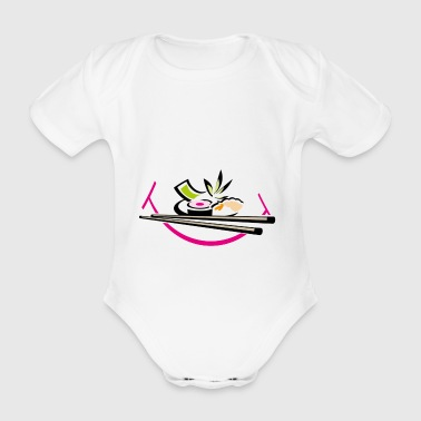 Sushi der liebe - Baby Bio-Kurzarm-Body