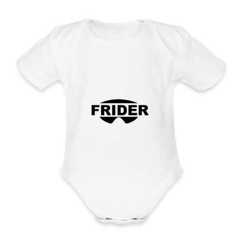 FRIDER - Body bébé bio manches courtes