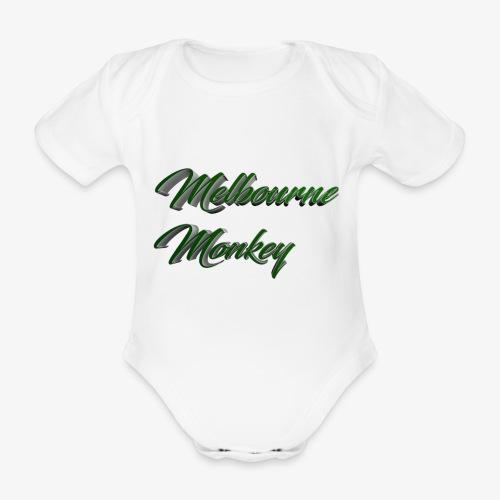Melbourne Monkey 2 - Body Bébé bio manches courtes
