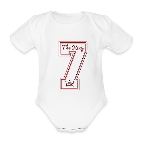 Collection THE KING 7 - Body Bébé bio manches courtes