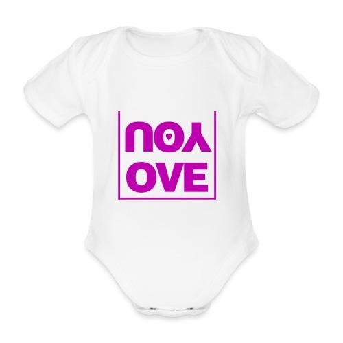 Love - Ekologisk kortärmad babybody
