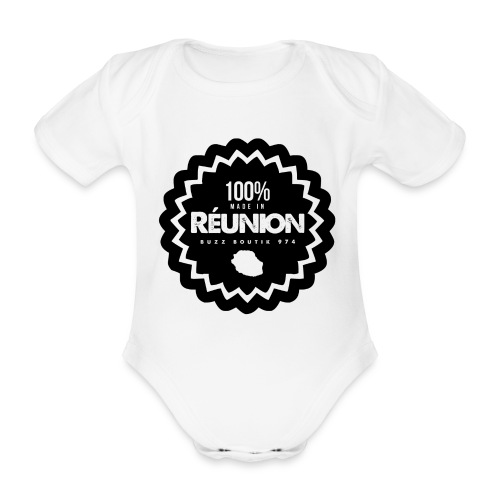 Collection 100% MADE IN REUNION - Body Bébé bio manches courtes