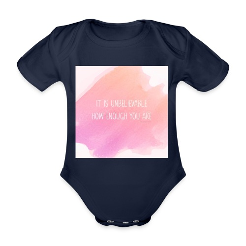 The Perfect Gift - Organic Short-sleeved Baby Bodysuit