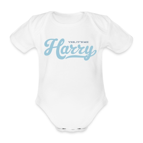 Harry (Yes It's Me) - Baby bio-rompertje met korte mouwen