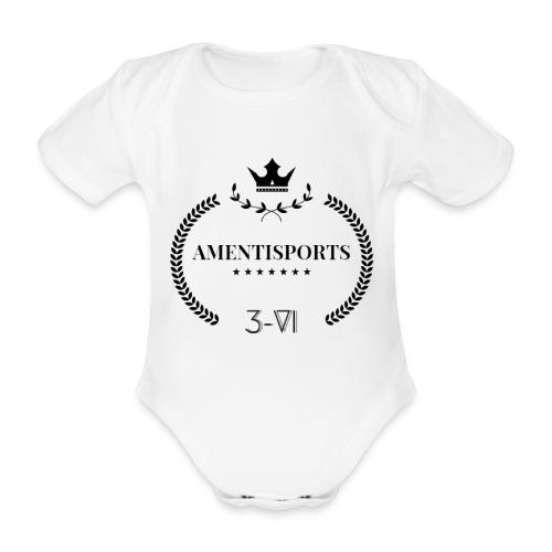 AmentiSports - Baby Bio-Kurzarm-Body