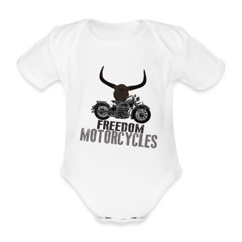 FREEDOM MOTORCYCLES - Body orgánico de maga corta para bebé