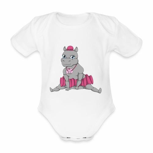 Little Big Hippo - Body bébé bio manches courtes