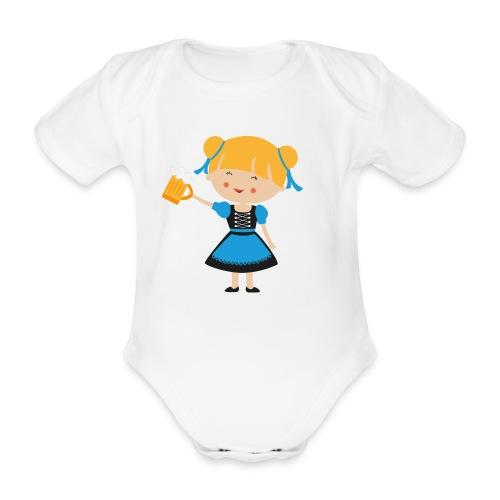 Happy Meitlis - Europa - Baby Bio-Kurzarm-Body