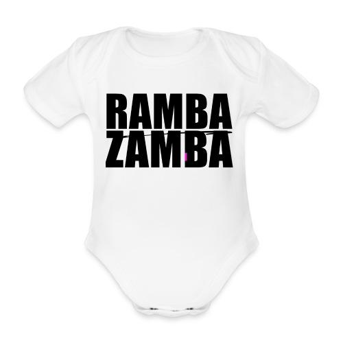 RAMBAZAMBA - Baby Bio-Kurzarm-Body