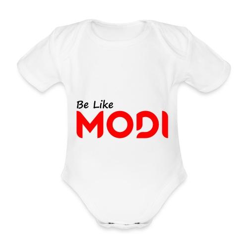 Be Like MoDi - Ekologiczne body niemowlęce z krótkim rękawem