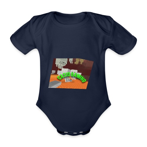 Logopit 1513697297360 - Baby bio-rompertje met korte mouwen