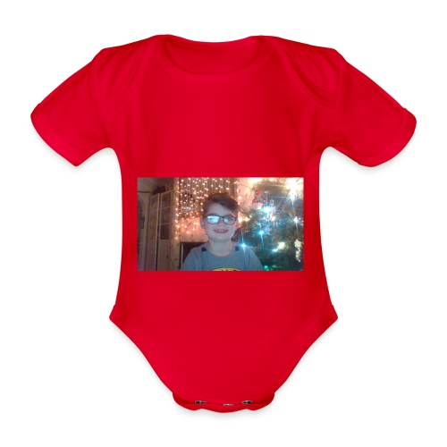 limited adition - Organic Short-sleeved Baby Bodysuit