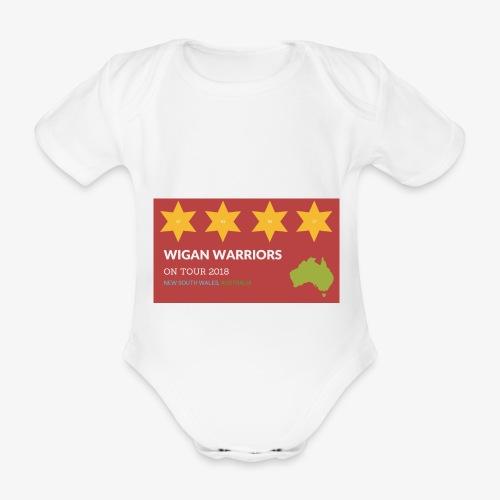 NSW AUS 2018 - Organic Short-sleeved Baby Bodysuit