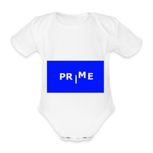 PR ME - Ekologisk kortärmad babybody