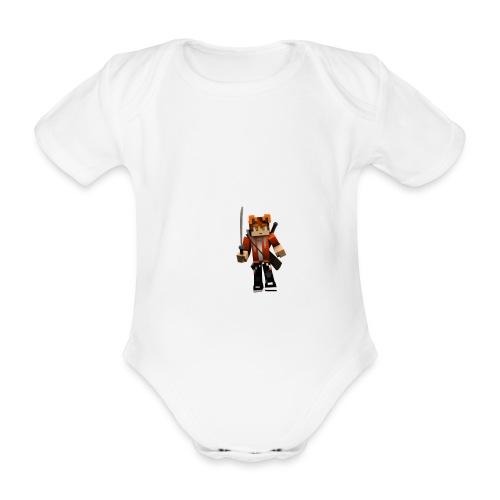 Alexhill2233 Minecraft - Organic Short-sleeved Baby Bodysuit