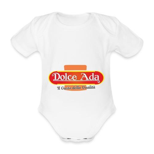 DolceAda il gusto della qualità - Body ecologico per neonato a manica corta