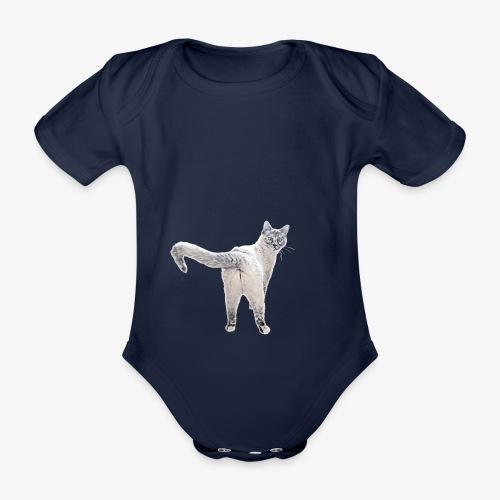 snow1 - Organic Short-sleeved Baby Bodysuit