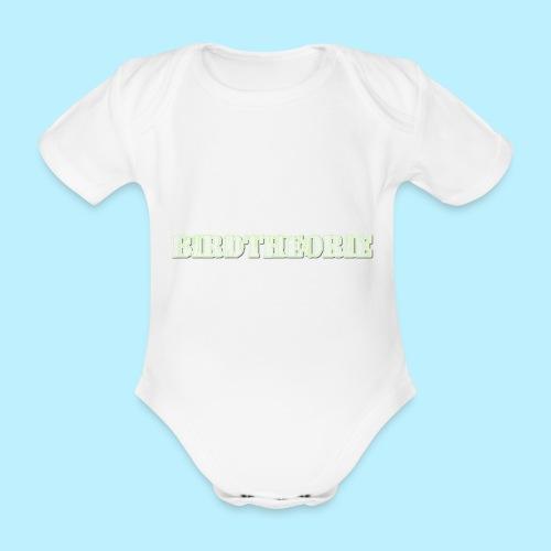 birththeoro green - Baby bio-rompertje met korte mouwen