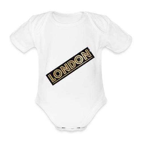 LONDON - Organic Short-sleeved Baby Bodysuit