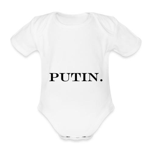 Vladimir PUTIN. - Baby Bio-Kurzarm-Body