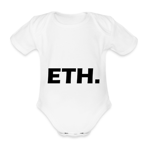 Ethereum - Baby Bio-Kurzarm-Body