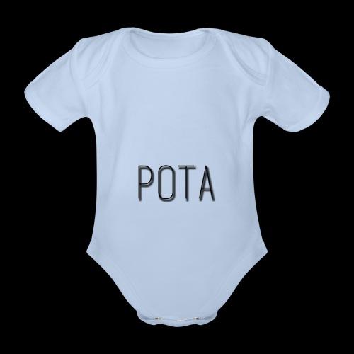 pota2 - Body ecologico per neonato a manica corta
