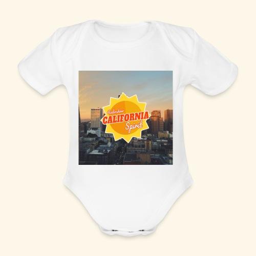 California Spirit City - Body bébé bio manches courtes