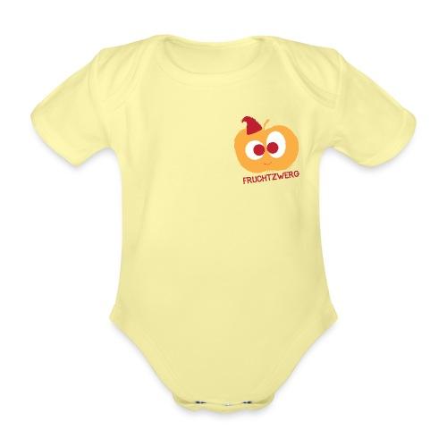 fruchtzwerg motiv - Baby Bio-Kurzarm-Body