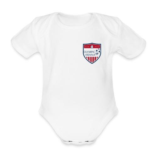 logo olympic - Baby Bio-Kurzarm-Body