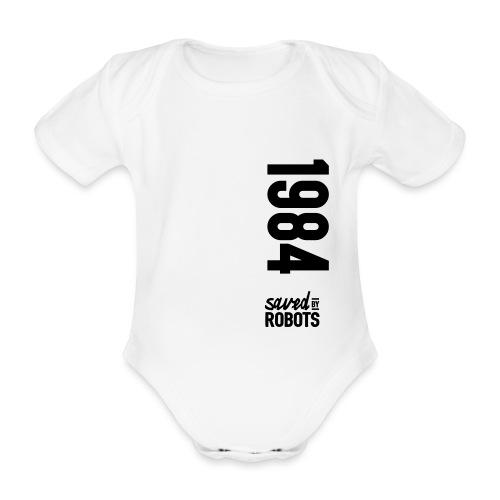 1984 / Saved By Robots Premium Tote Bag - Organic Short-sleeved Baby Bodysuit