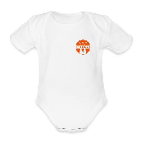 Made in Cologne - Baby Bio-Kurzarm-Body