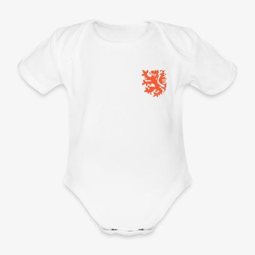 Orange lion Replica Holland 1974 - Organic Short-sleeved Baby Bodysuit