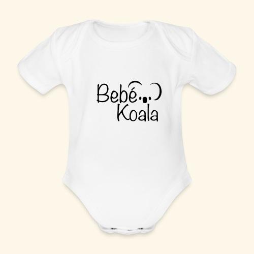 Bebé Koala - Body orgánico de maga corta para bebé