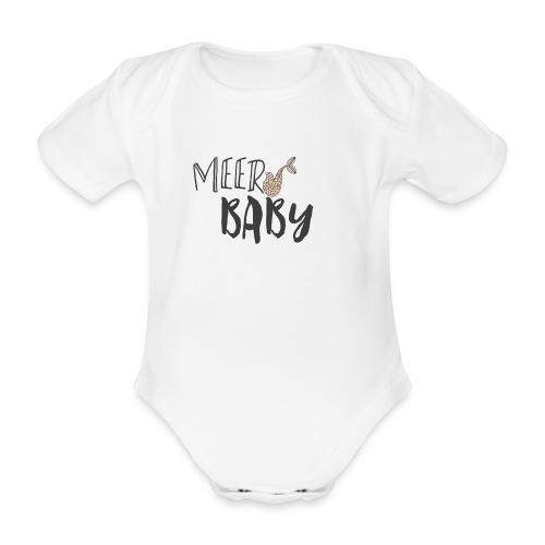 Meerbaby Body - Baby Bio-Kurzarm-Body
