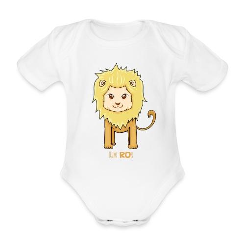 Le roi - Body Bébé bio manches courtes
