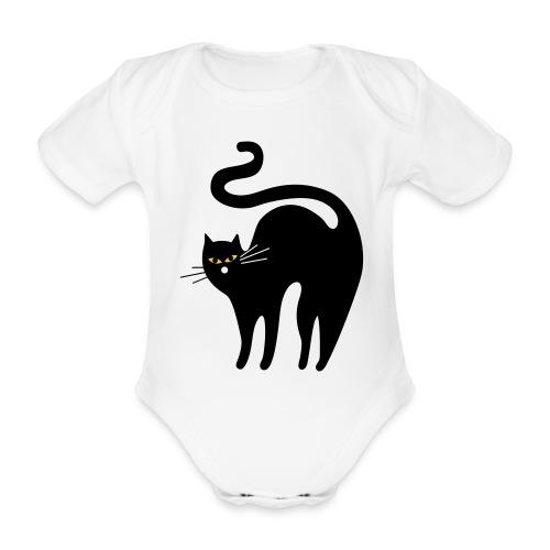 black cat - Body bébé bio manches courtes