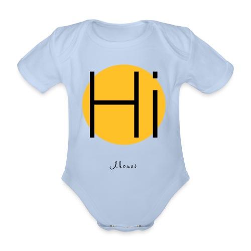 Hi circle - Organic Short-sleeved Baby Bodysuit