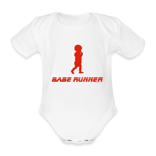 Babe Runner - Body Bébé bio manches courtes