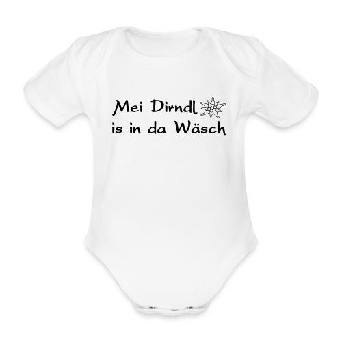 Mei Dirndl is in da Wäsch - Baby Bio-Kurzarm-Body