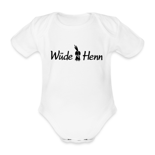 Wüde Henn - Baby Bio-Kurzarm-Body