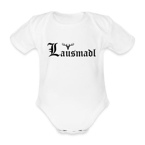 Lausmadl mit Hirsch - Baby Bio-Kurzarm-Body