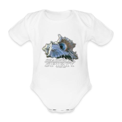 Seashell's Spirit - Soutien Centre Soins Phoques - Body bébé bio manches courtes