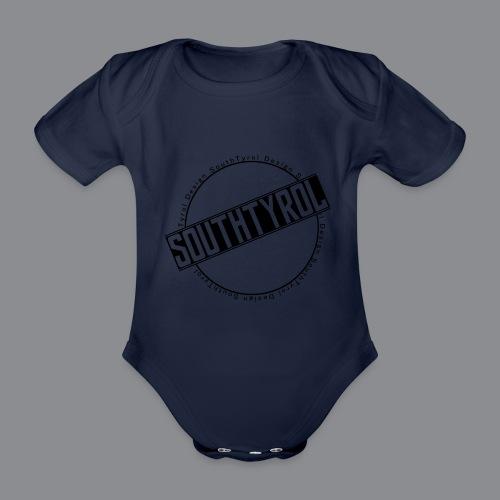 SouthTyrol Kreisform - Baby Bio-Kurzarm-Body