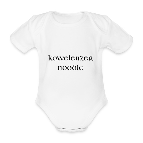 Kowelenzer Noodle - Baby Bio-Kurzarm-Body