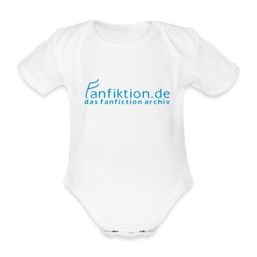 FanFiktion de Schriftzug - Baby Bio-Kurzarm-Body