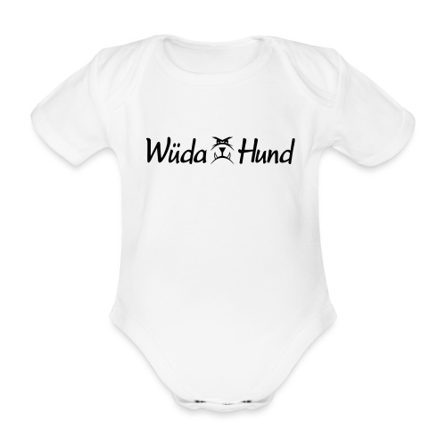 Wüda Hund - Baby Bio-Kurzarm-Body