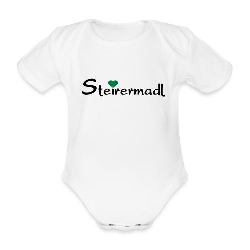 Steirermadl - Baby Bio-Kurzarm-Body