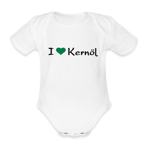 I mog Kernöl - Baby Bio-Kurzarm-Body