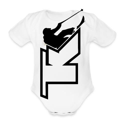 2017 TK Logo Noir sanstexte - Body Bébé bio manches courtes