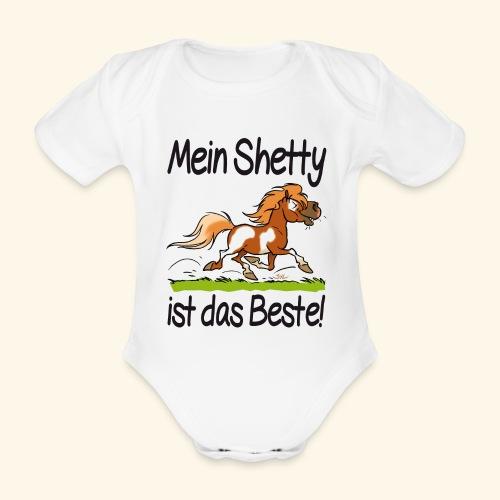 Mein Shetty ist das Beste (Text Schwartz) - Body Bébé bio manches courtes